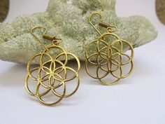 Indian Tribal EarringsLarge Hippie by TheEthnicJewels on Etsy