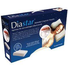 Diastar Standard Density Memory Foam Pillow - for boyfriend banner Memory Foam, Bed Pillows, Memories, Coupon Template, Bedding, Banner, Boyfriend, Home Decor, Ideas