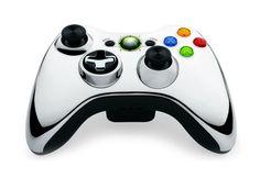 Microsoft Xbox 360 Wireless Controller - Chrome Silver