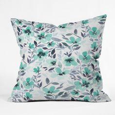 Jacqueline Maldonado Espirit Mint Throw Pillow   DENY Designs Home Accessories