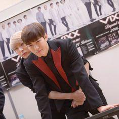 Leo and Hongbin (VIXX) *squeaks* SO CUTE.