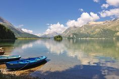 Lake Sils in Graubünden, Swizerland jigsaw puzzle Love Picture Quotes, Love Quotes With Images, Places To Travel, Travel Destinations, Puzzle Of The Day, Gabriel Garcia, Travel Information, Lake View, Natural World