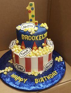 Calumet Bakery Movie Themed First Birthday Cake