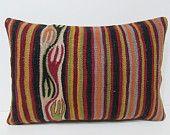 16x24 kilim lumbar pillow floor lumbar pillow long lumbar pillow burlap lumbar pillow large lumbar pillow kilim pillow lumbar pillow 28664