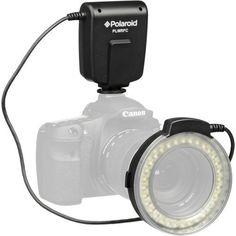 Polaroid LED Macro Ring Flash & Light For The Nikon D40, D40x, D50, D60, D70, D80, D90, D100, D200, D300, D3, D3S, D700, D3000, D5000, D3100, D3200, D7000, D5100, D4, D800, D800E, D600 Digital SLR Cameras (Will Fit 52,55,58,62,67,72,77mm Lenses) by Polaroid, http://www.amazon.com/dp/B006T4UUN8/ref=cm_sw_r_pi_dp_1EeTqb1N6JVTB