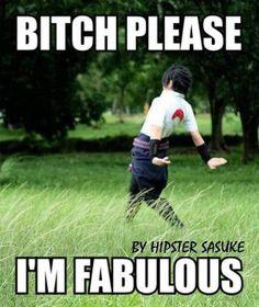 Hipster Sasuke, lol