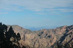 Chisos Mountains. Big Bend National Park. Photography by: Tim Speer