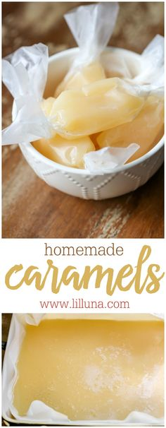 Homemade Caramels -