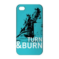 Barrel Racing Phone Case Turn Burn dapplebay ❤ liked on Polyvore featuring accessories, tech accessories, phone, phone cases and blue