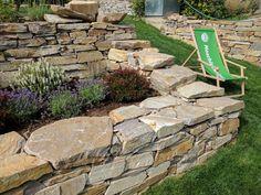 Gardening, Hydrangea, Stepping Stones, Sidewalk, Outdoor Decor, Plants, Airstone, Wall, Patio