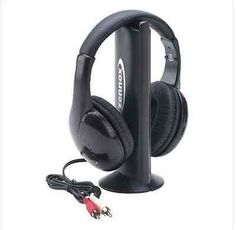 Wireless New Headphone and Receiver with MIC + FM Radio Bluetooth Free Shipping