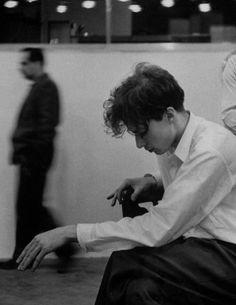 Glenn Gould, 1955. Photo by Gordon Parks