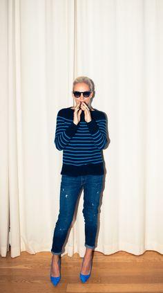 She counts Stella McCartney & McQueen among her mentors. NBD! http://www.thecoveteur.com/karin-gregersen-vince/