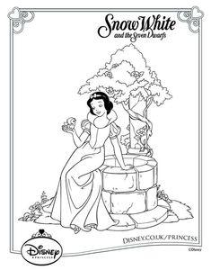 46 Best Disney Princess Colouring Pages Images Disney