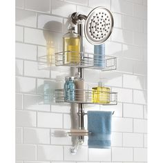 Love This Forma Suction Shower Caddy Station On