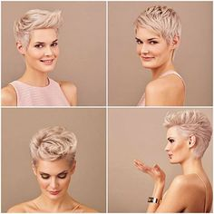Today we have the most stylish 86 Cute Short Pixie Haircuts. We claim that you have never seen such elegant and eye-catching short hairstyles before. Pixie haircut, of course, offers a lot of options for the hair of the ladies'… Continue Reading → Cute Pixie Cuts, Blonde Pixie Cuts, Short Blonde, Short Pixie Haircuts, Pixie Hairstyles, Short Hair Cuts, Cool Hairstyles, Ladies Hairstyles, Haircut Short