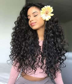 Long Wigs Lace Hair Frontal Long Straight Middle Part – dianawigs Long Curly Hair, Curly Hair Styles, Natural Hair Styles, Deep Curly, Curly Wigs, Tumblr Curly Hair, Big Hair, Short Hair, Curly Bob
