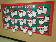 Technology Christmas Bulletin Board Idea - too cute for words!