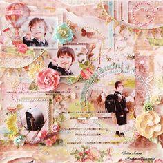 Gotta Scrap: 入学記念LOと桜のミニブック