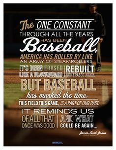 Great quote from Field of Dreams