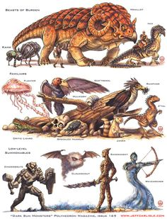 Dark Sun Monsters