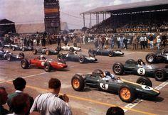 1963 British Grand Prix Start