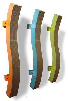 Modern cat scratchers from enchanted home pet 30 discount for hauspanther readers cat - Wall mounted cat scratcher ...