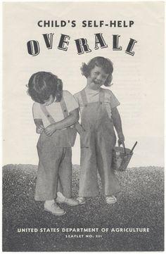 La salopette fortement conseillée pour les enfants