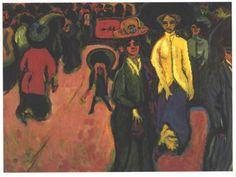 Street - Ernst Ludwig Kirchner
