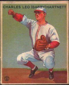 Gabby Hartnett - Chicago Cubs - 1922 to 1940