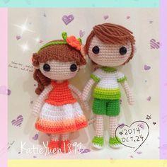 amigurumi crochet doll handmade kawaii