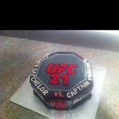 UFC cake. For 21st birthday.