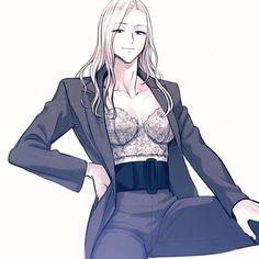 Cool Anime Girl, Anime Art Girl, Manga Art, Anime Guys, Yuri Anime, Chica Anime Manga, Otaku Anime, Chica Anime Sensual, Manhwa