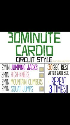 This would be good for an at home cardio workout if i couldn't make it to the gym