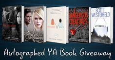 Autographed YA Book Giveaway