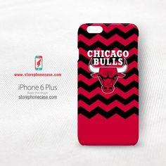 Chicago Bulls NBA Chevron iPhone 6 Plus Cover Case