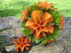 Origami ✿ Asterix ✿ Flower Barbarea - YouTube