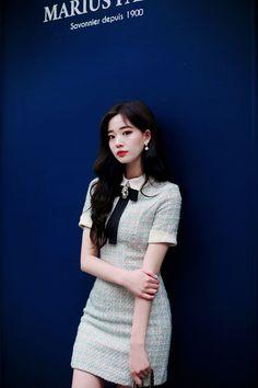 daily 2019 feminine& classy look Korean Fashion Dress, Korean Outfits, Asian Fashion, Girl Fashion, Fashion Dresses, Fall Dresses, Short Dresses, Girls Dresses, Preppy Outfits