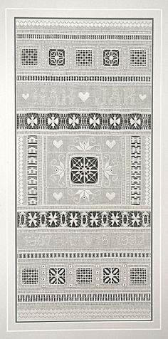 Drawn Thread Sampler and its Doodle Hardanger Embroidery, White Embroidery, Cross Stitch Embroidery, Embroidery Patterns, Hand Embroidery, Stitch Patterns, Drawn Thread, Thread Work, How To Make Drawing