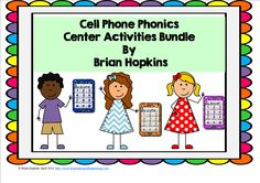 My Cell Phone Phonics Bundle currently contains the following:  Cell Phone CVC and CVCe Long Vowel Pairs R Controlled Vowels  Texting Code, ABC order, and Word Sorts are included. Cell phones are in color and also in black and white. Each set contains answer keys.