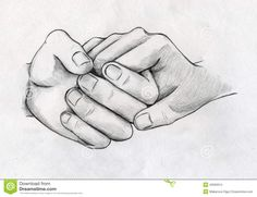Images For > Pencil Drawing Of Couple Holding Hands