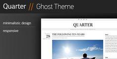 Quarter - Responsive Ghost Theme