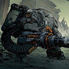 Robot Concept Art, Armor Concept, Anime Fantasy, Fantasy Art, Character Concept, Character Art, Mode Cyberpunk, Cyberpunk Fashion, Neon Noir