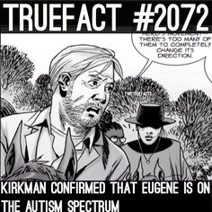 I was pretty sure this was true. Glad Kirkman confirmed it.