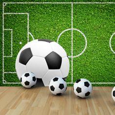 Παιδικές Ταπετσαρίες Soccer Ball, Soccer, European Football, Football, Futbol