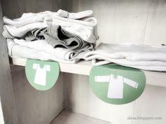 Wardrobe labels, free