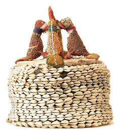 Africa   Hat from the Yoruba people of Nigeria. African Hats, Yoruba People, African Culture, West Africa, Ethnic Jewelry, Headdress, Art And Architecture, Wearable Art, Afro