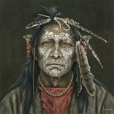 Kirby Sattler |Native American Art #artpeople click on the link below to see more ..