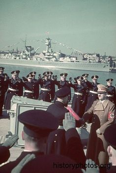 Early color photos of German Warships. Naval History, Military History, Colorized Historical Photos, Heavy Cruiser, Germany Ww2, World War One, Battleship, Photo Archive, Colorful Pictures