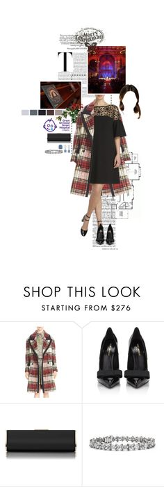 """Untitled #2400"" by duchessq ❤ liked on Polyvore featuring Craftsman, Burberry, Yves Saint Laurent, L.K.Bennett and Blue Nile"